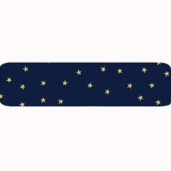Navy/gold Stars Large Bar Mats by Colorfulart23
