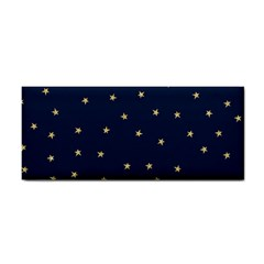 Navy/gold Stars Cosmetic Storage Cases by Colorfulart23