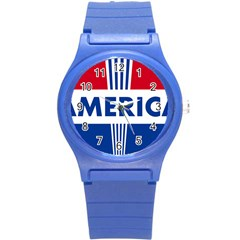 America 1769750 1280 Round Plastic Sport Watch (s) by Colorfulart23