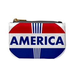 America  Mini Coin Purses by Colorfulart23