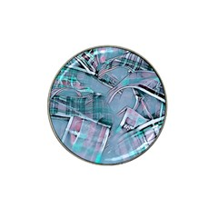 Another Modern Moment Aqua Hat Clip Ball Marker (10 Pack) by MoreColorsinLife