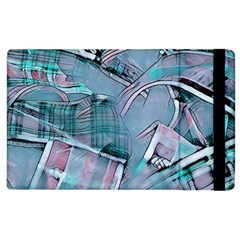 Another Modern Moment Aqua Apple Ipad 3/4 Flip Case by MoreColorsinLife