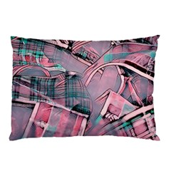 Another Modern Moment Pink Pillow Case by MoreColorsinLife