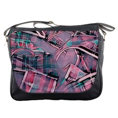 Another Modern Moment Pink Messenger Bags by MoreColorsinLife