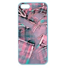 Another Modern Moment Pink Apple Seamless Iphone 5 Case (color) by MoreColorsinLife