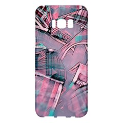 Another Modern Moment Pink Samsung Galaxy S8 Plus Hardshell Case  by MoreColorsinLife