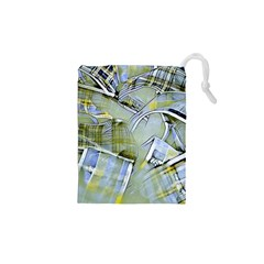 Another Modern Moment Yellow Drawstring Pouches (xs)  by MoreColorsinLife