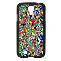 Psychedelic Background Samsung Galaxy S4 I9500/ I9505 Case (black) by Colorfulart23