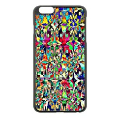 Psychedelic Background Apple Iphone 6 Plus/6s Plus Black Enamel Case by Colorfulart23