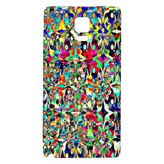 Psychedelic Background Galaxy Note 4 Back Case by Colorfulart23
