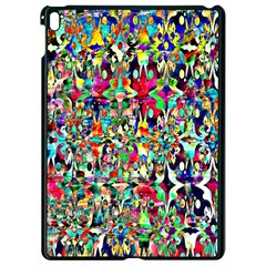 Psychedelic Background Apple Ipad Pro 9 7   Black Seamless Case by Colorfulart23