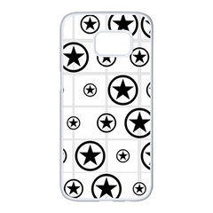 Army Stars Samsung Galaxy S7 Edge White Seamless Case by linceazul