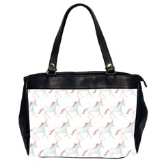 Unicorn Pattern Office Handbags (2 Sides)  by paulaoliveiradesign