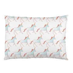 Unicorn Pattern Pillow Case (two Sides) by paulaoliveiradesign