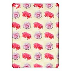 Yellow Floral Roses Pattern Ipad Air Hardshell Cases