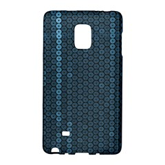 Blue Sparkly Sequin Texture Galaxy Note Edge by paulaoliveiradesign