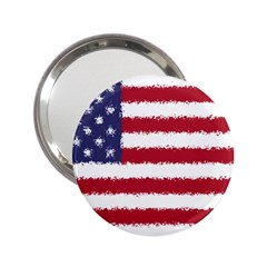 Flag Of The United States America 2 25  Handbag Mirrors by paulaoliveiradesign
