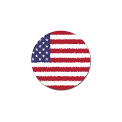 Flag Of The United States America Golf Ball Marker (4 Pack) by paulaoliveiradesign