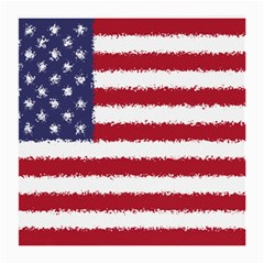 Flag Of The United States America Medium Glasses Cloth (2 Side) by paulaoliveiradesign
