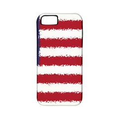 Flag Of The United States America Apple Iphone 5 Classic Hardshell Case (pc+silicone) by paulaoliveiradesign