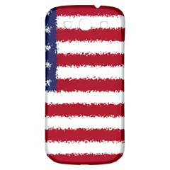 Flag Of The United States America Samsung Galaxy S3 S Iii Classic Hardshell Back Case by paulaoliveiradesign