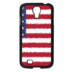 Flag Of The United States America Samsung Galaxy S4 I9500/ I9505 Case (black) by paulaoliveiradesign