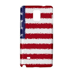 Flag Of The United States America Samsung Galaxy Note 4 Hardshell Case by paulaoliveiradesign