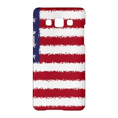 Flag Of The United States America Samsung Galaxy A5 Hardshell Case  by paulaoliveiradesign