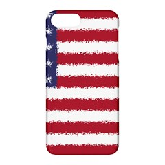 Flag Of The United States America Apple Iphone 7 Plus Hardshell Case by paulaoliveiradesign