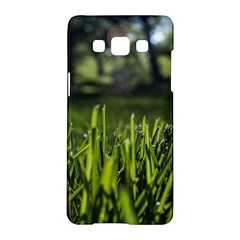 Green Grass Field Samsung Galaxy A5 Hardshell Case  by paulaoliveiradesign