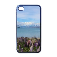 Lake Tekapo New Zealand Landscape Photography Apple Iphone 4 Case (black) by paulaoliveiradesign