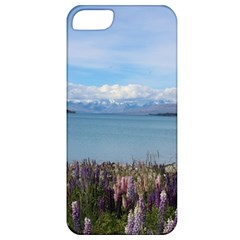 Lake Tekapo New Zealand Landscape Photography Apple Iphone 5 Classic Hardshell Case by paulaoliveiradesign