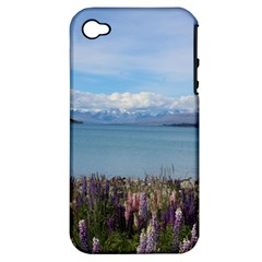 Lake Tekapo New Zealand Landscape Photography Apple Iphone 4/4s Hardshell Case (pc+silicone) by paulaoliveiradesign