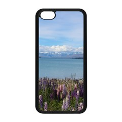 Lake Tekapo New Zealand Landscape Photography Apple Iphone 5c Seamless Case (black) by paulaoliveiradesign