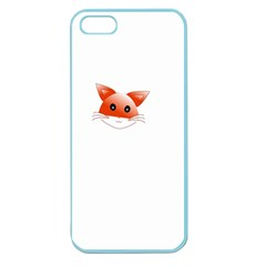 Animal Image Fox Apple Seamless Iphone 5 Case (color) by BangZart