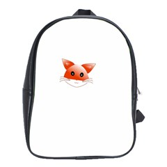Animal Image Fox School Bags (xl)  by BangZart