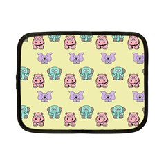 Animals Pastel Children Colorful Netbook Case (small)  by BangZart