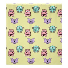 Animals Pastel Children Colorful Shower Curtain 66  X 72  (large)  by BangZart