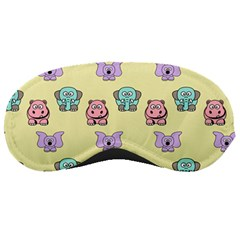 Animals Pastel Children Colorful Sleeping Masks by BangZart