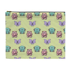 Animals Pastel Children Colorful Cosmetic Bag (xl) by BangZart