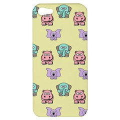 Animals Pastel Children Colorful Apple Iphone 5 Hardshell Case