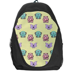 Animals Pastel Children Colorful Backpack Bag