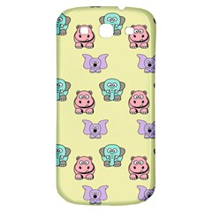 Animals Pastel Children Colorful Samsung Galaxy S3 S Iii Classic Hardshell Back Case by BangZart