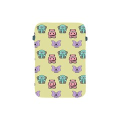 Animals Pastel Children Colorful Apple Ipad Mini Protective Soft Cases by BangZart