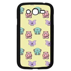 Animals Pastel Children Colorful Samsung Galaxy Grand Duos I9082 Case (black)