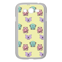 Animals Pastel Children Colorful Samsung Galaxy Grand Duos I9082 Case (white) by BangZart