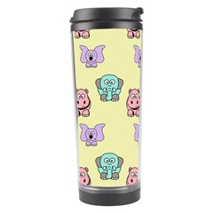 Animals Pastel Children Colorful Travel Tumbler by BangZart