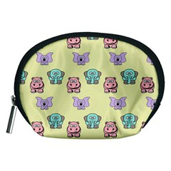 Animals Pastel Children Colorful Accessory Pouches (medium)  by BangZart