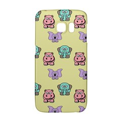 Animals Pastel Children Colorful Galaxy S6 Edge by BangZart