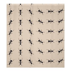 Ants Pattern Shower Curtain 66  X 72  (large)  by BangZart